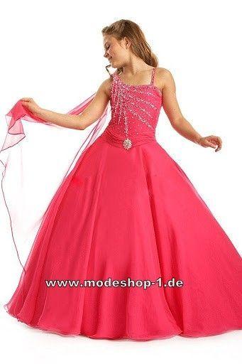 Abendkleid Ballkleid für Mädchen Bodenlang   Abendkleider ...