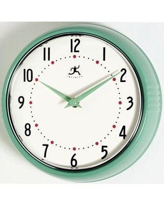 Shopping Online Shop Home Decor Garden Patio Kitchen Bathroom And Furniture Stores Retro Wall Clock Red Wall Clock Orange Wall Clocks
