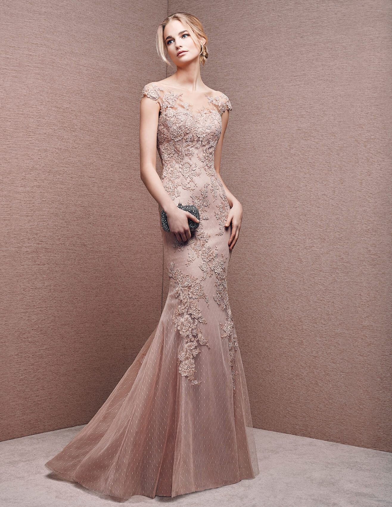 6605 - Mermaid cocktail dress with sweetheart neckline | St. Patrick ...