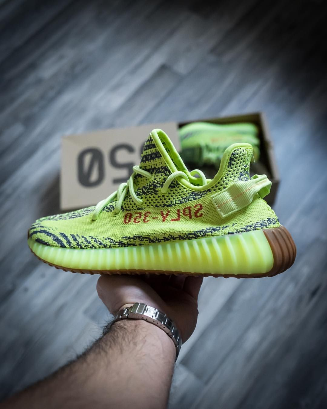 6fe52cfbb adidas Yeezy Boost 350 V2  Semi Frozen Yellow