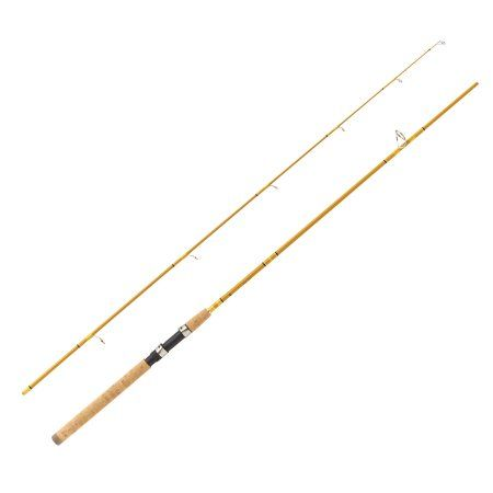 Eagle Claw Crafted Glass Spinning Rod 8 6 Inch Length 2 Piece