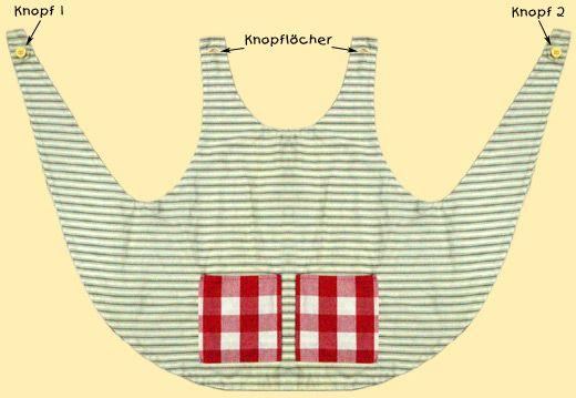 pippi style smock apron tonias langstrumpf sch rze. Black Bedroom Furniture Sets. Home Design Ideas