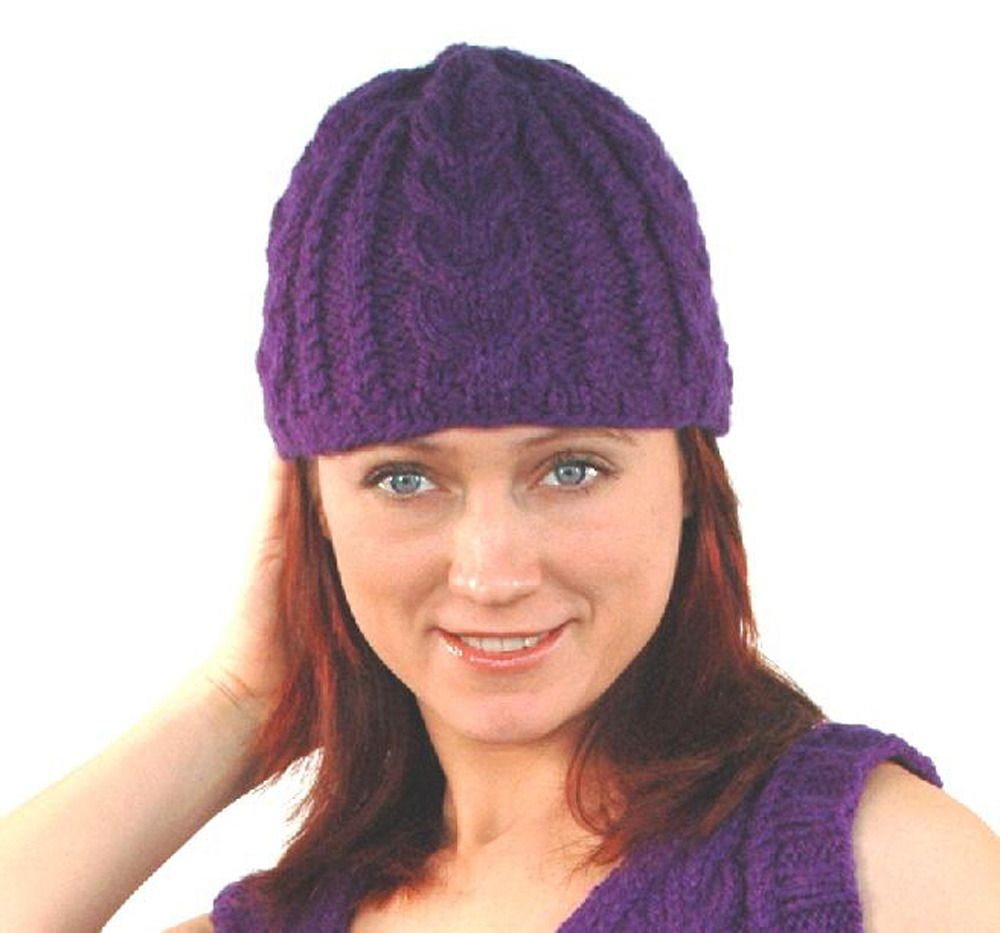 Cabled hat in plymouth encore worsted f192 adult knit hat cabled hat in plymouth encore worsted discover more patterns by plymouth yarn at loveknitting the worlds largest range of knitting supplies we stock bankloansurffo Gallery