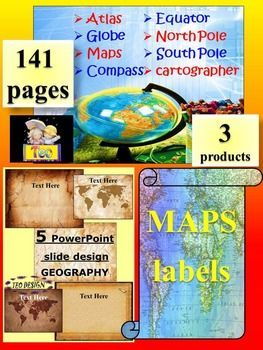 Maps and globes editable template classroom decor geography maps and globes maps labels editable template geographythe zip file contains 3 products1 maps and globes interactive powerpoint presentationthis is toneelgroepblik Image collections