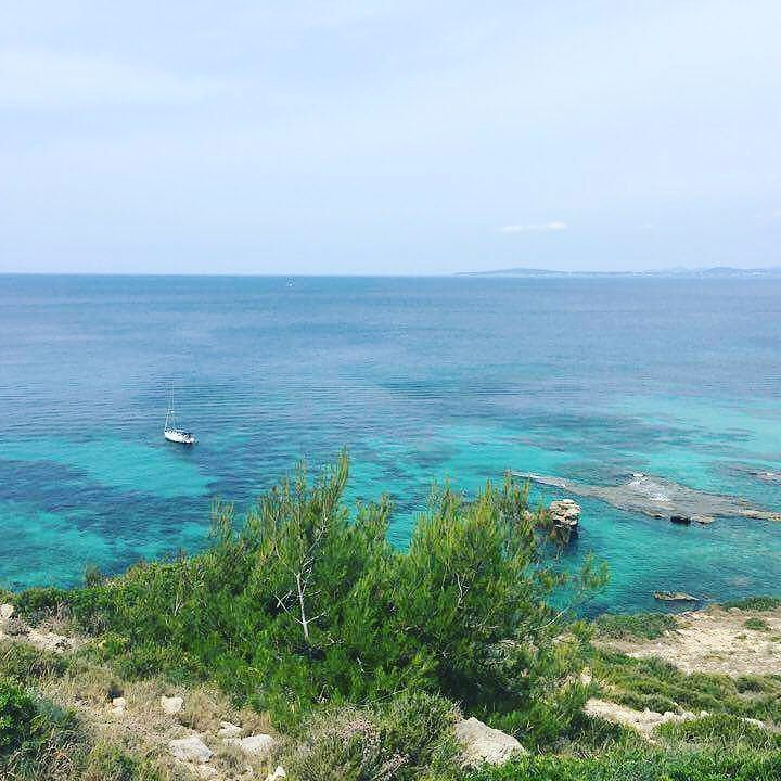Those clear blue waters... #mallorca