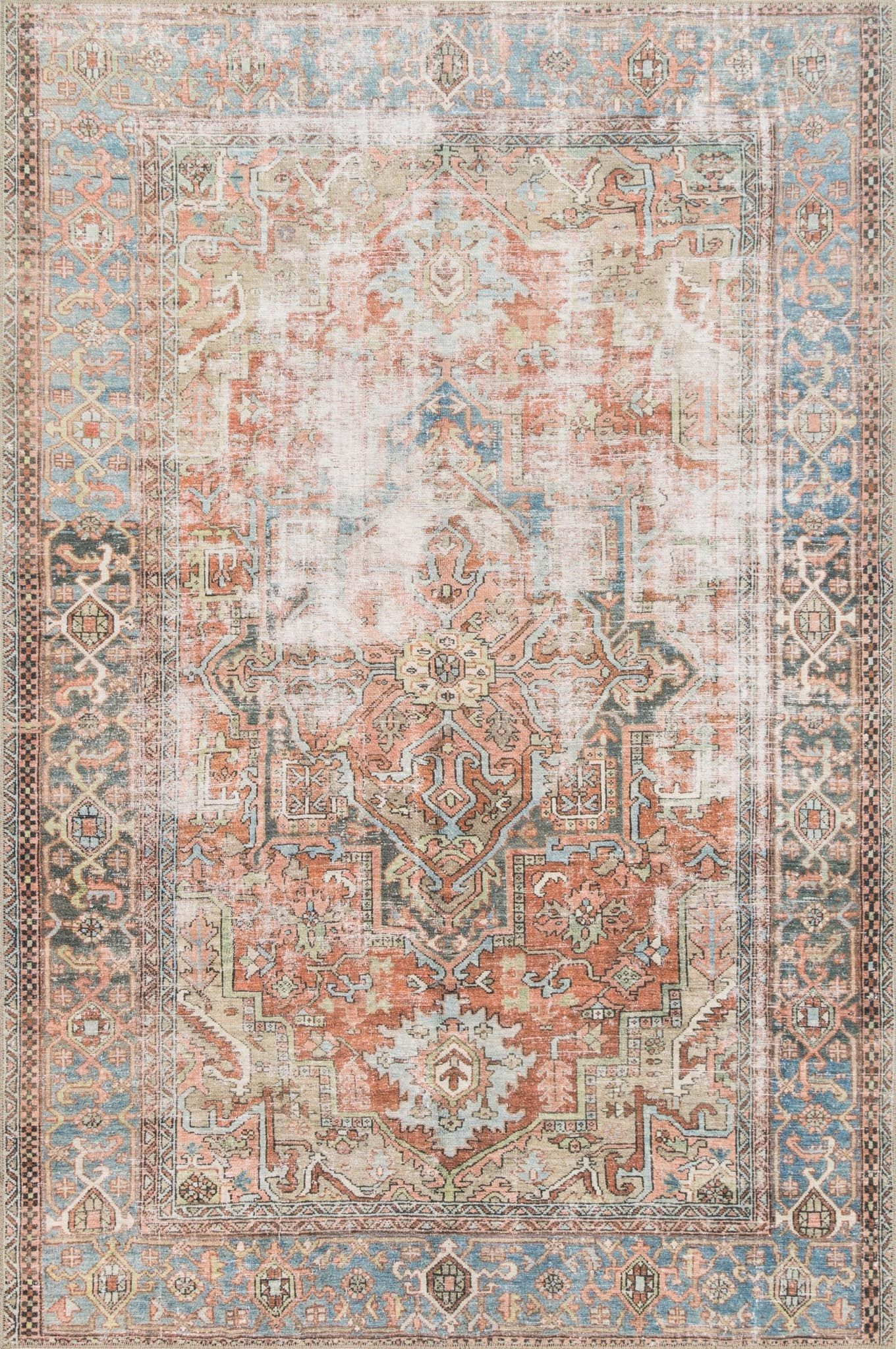 Lq 15 Color Terracotta Sky Size 5 X 7 6 Room Rugs Area