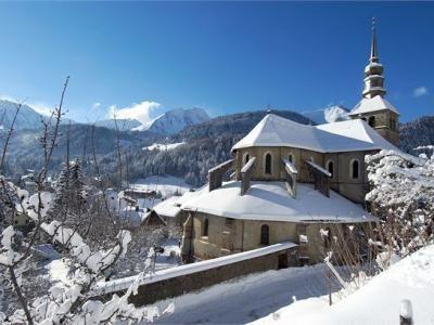 Abbaye d abondance sous la neige guide du tourisme de haute savoie rhone alpes haute savoie - Office de tourisme d abondance ...