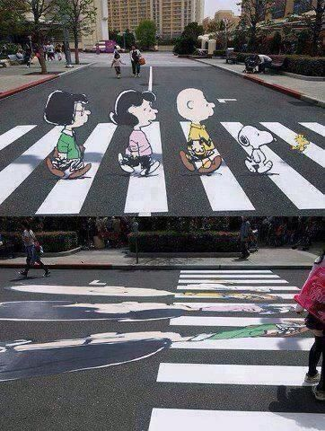 Twitter, Amazing illusion to slow down drivers pic.twitter.com/0PikHxcM6c
