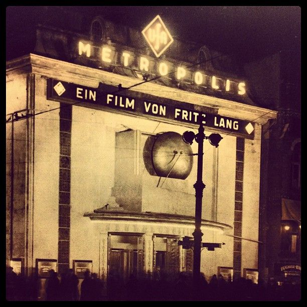 1927 premiere of Fritz Lang's Metropolis (Alex Stöcker)   Flickr - Photo Sharing!