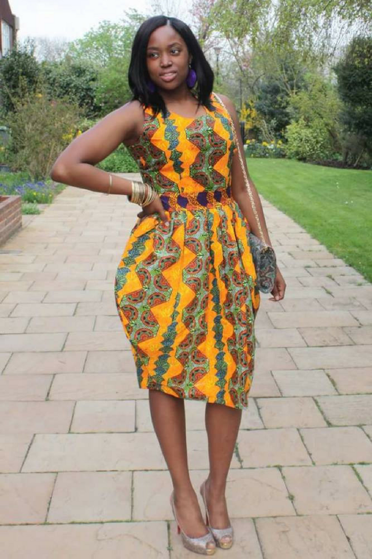 African Dresses For Women African Fashion Ankara Kitenge African Women Dresses African