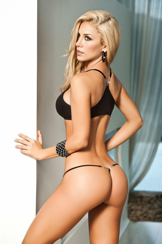Bikini model riot