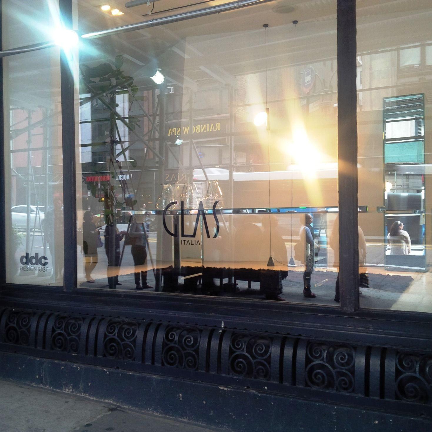 #GLASITALIA shopinshop at #DDC DESIGNPOST #NY City May 2015 181 Madison Avenue at 34th St NYC ddcnyc.com glasitalia.com