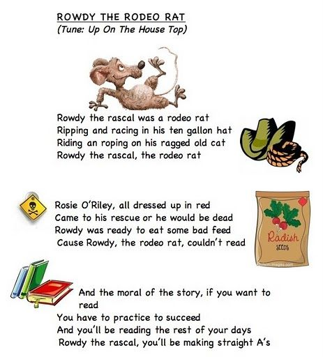 Alphabet letter song R words from Frog Street Press link