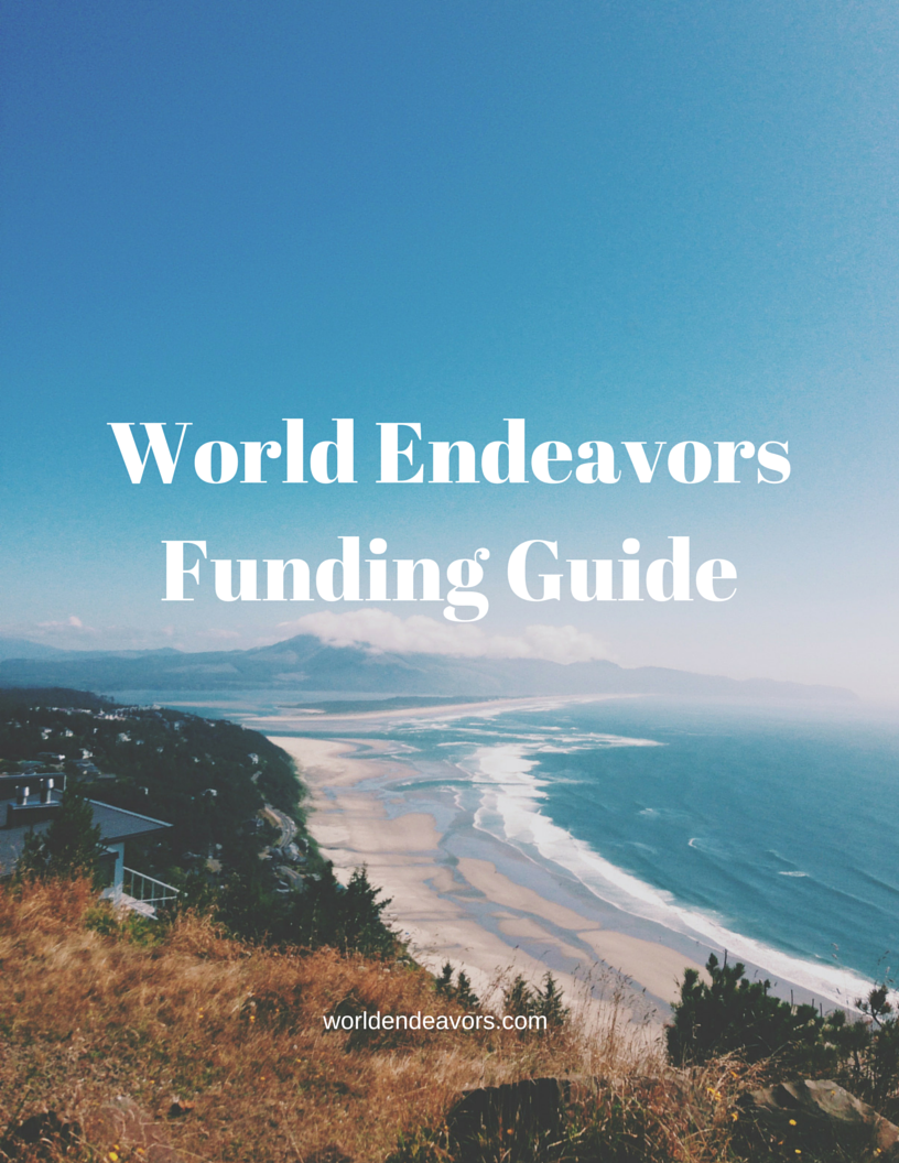 Worried about funding your program abroad? Download our handy Scholarship and Fundraising Guide!  #funding #tips #travel #fundraising #adventure
