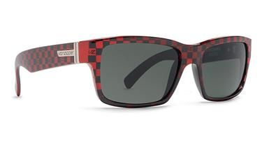 3cb3361a12c Von Zipper Fulton in Red   Black Checkers. As seen on Tony Stark in Iron  Man 2. Limited Edition available only at SunglassGarage.com