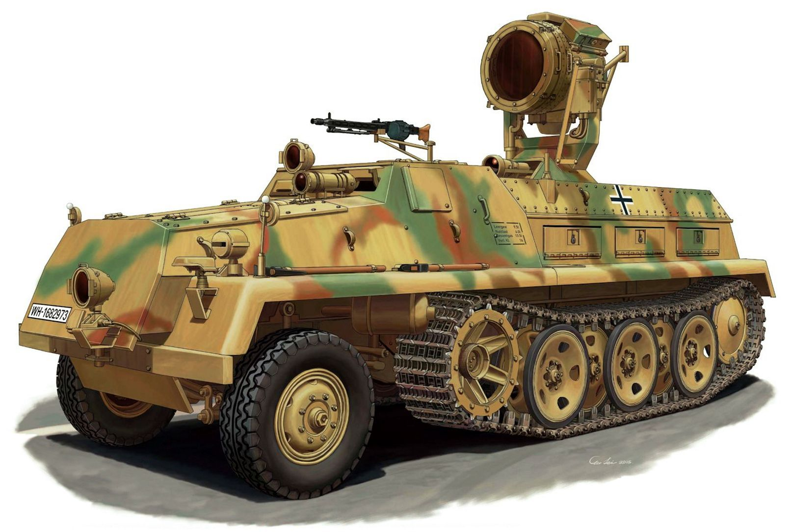 Pin En German Wwii Military Vehicle Artworks