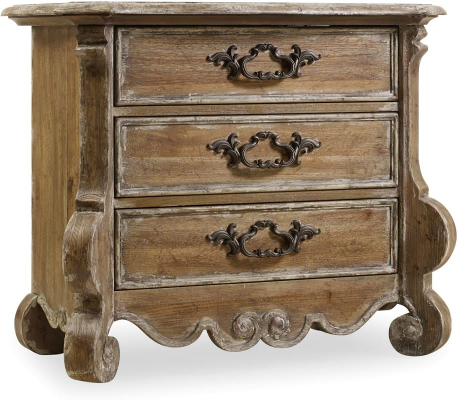 Furniture 5300 90016 36 Inch Wide 3 Drawers Poplar Wood Nightstand From T Caramel Froth Indoor Storage
