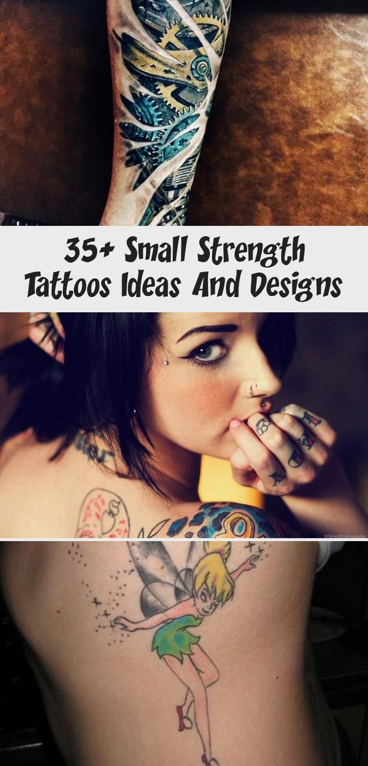 35+ Small Strength Tattoos Ideas And Designs – The Life Ideas