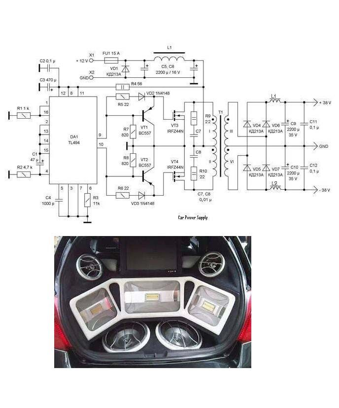 TL494 Tr BC557 IRFZ44N   Elektronik   Pinterest