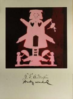 Andy Warhol H.C. Andersen papirklip