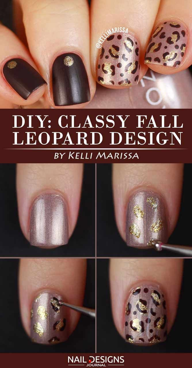 5 Super Easy Fall Nail Ideas You Should Try This Season | Tutorial nails