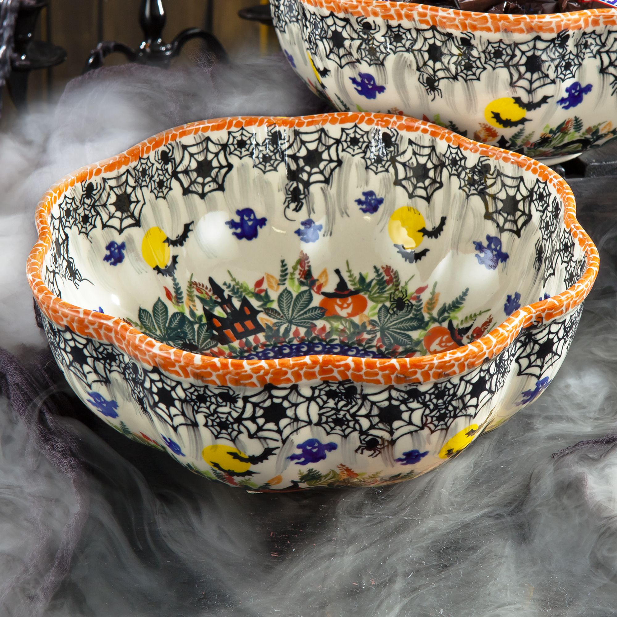 2018 Edition Polish Pottery Halloween Bowl in 2020