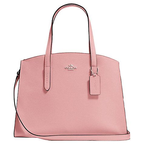 354c0a2602 ... france buy coach charlie leather carryall tote bag online at johnlewis  handbags and purses. womens