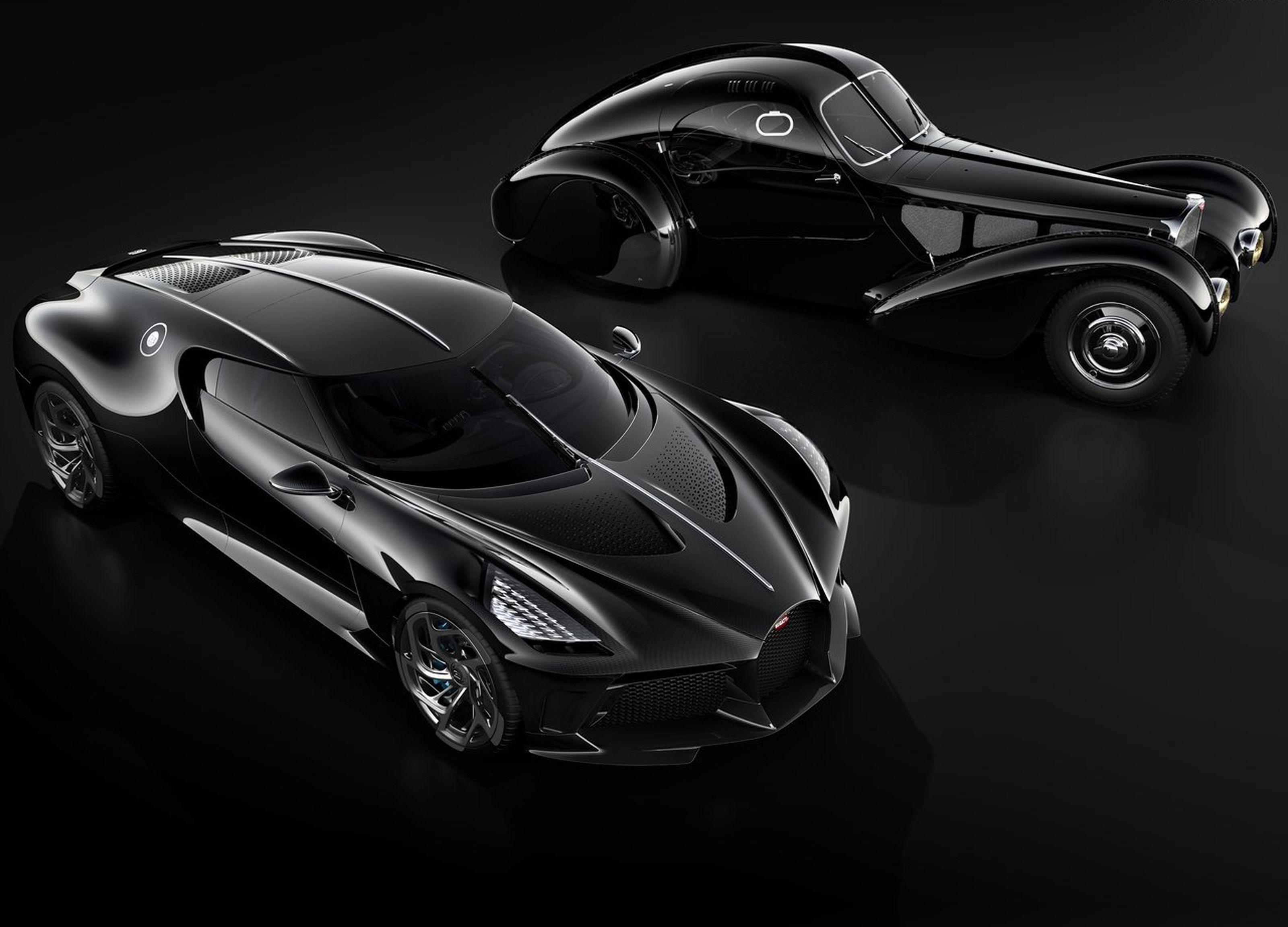 Bugatti La Voiture Noire De R 47 Milhoes E O Carro Novo
