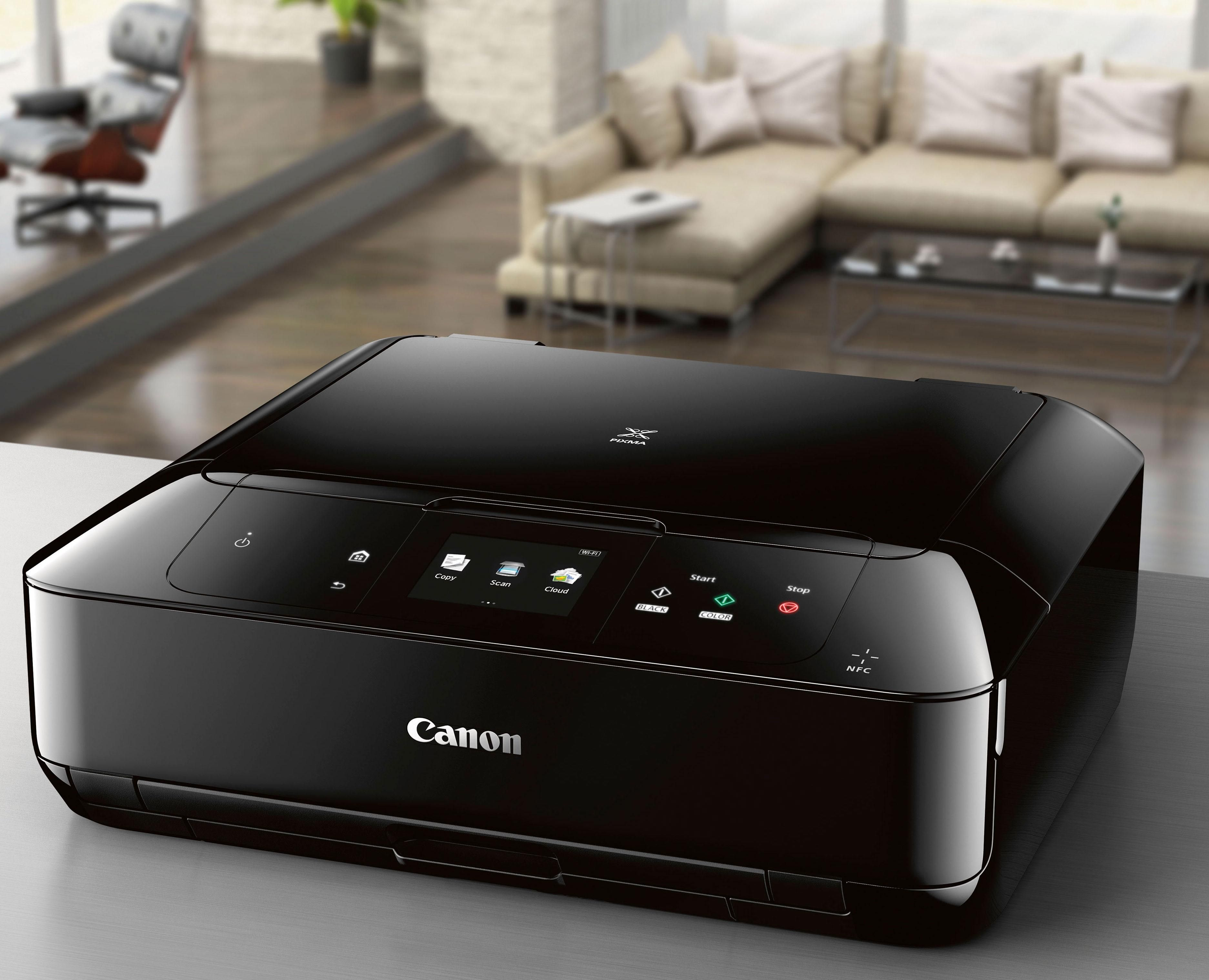 Amazon.com: Canon MG7720 Wireless All-In-One Printer with Scanner and Copier: Mobile and Tablet Printing, with Airprint(TM) and Google Cloud Print compatible, Black: Electronics