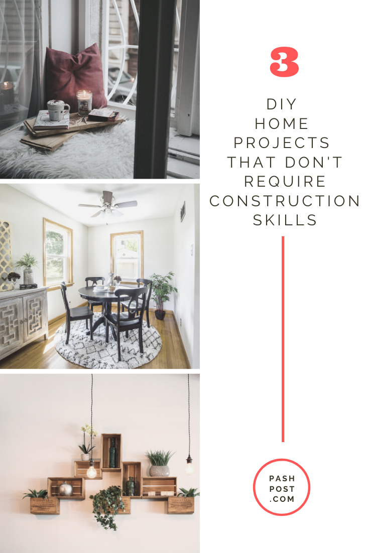 3 Simple Diy Home Projects To Update Your Home Home Diy Home Projects Home Improvement Projects