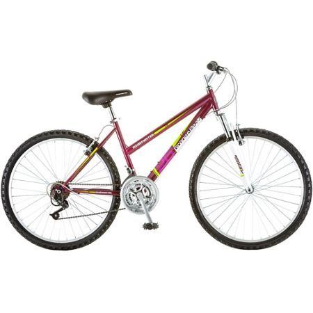 26 Roadmaster Granite Peak Women S Mountain Bike Magenta Walmart Com Mountain Biking Women Womens Bike All Terrain Bike