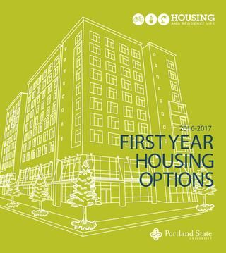 Uhrl First Year Housing Options 2016 2017