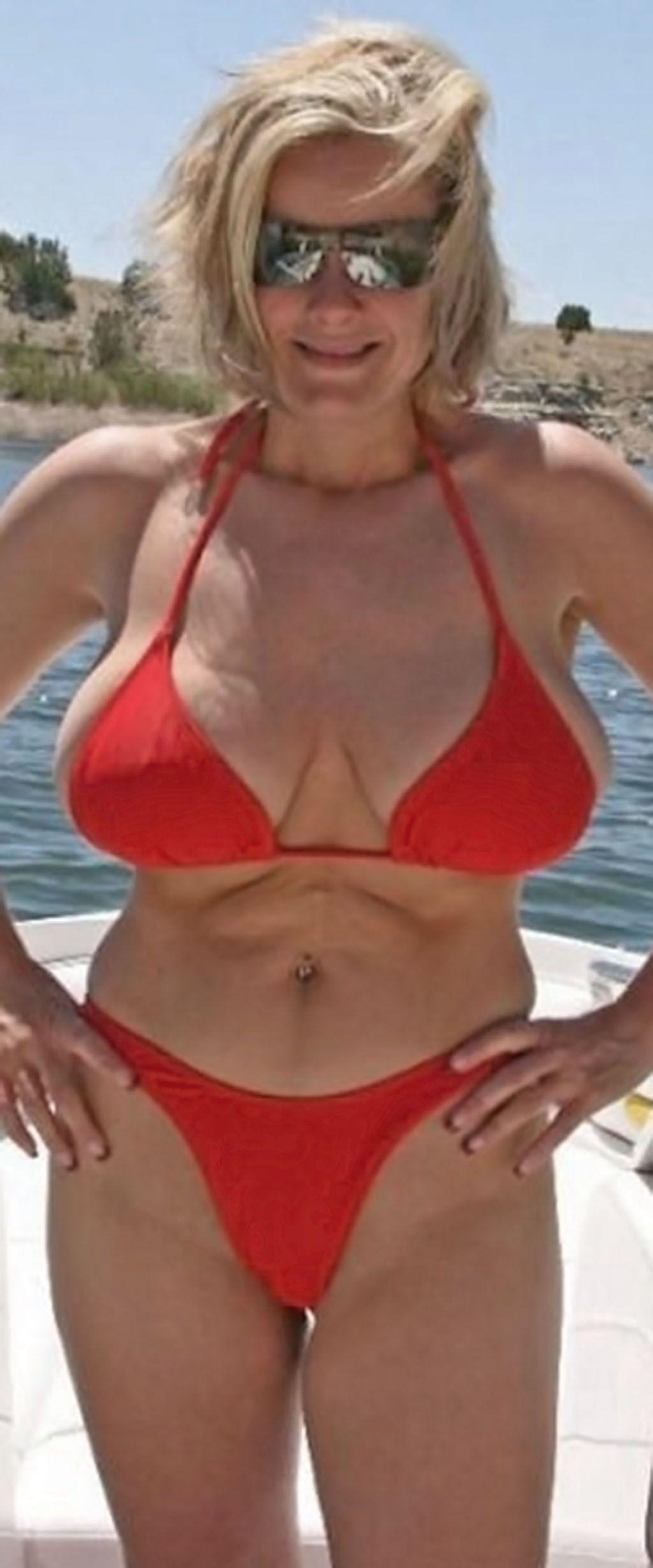 mature ladies in swimsuits