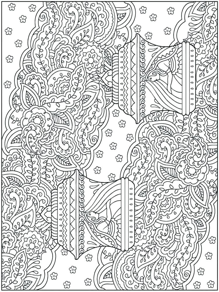 Difficult Printable Winter Coloring Pages - Coloring And Drawing