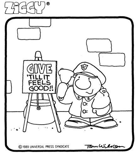 Ziggy Cartoon, The Salvation Army   TSA Illustrations ...