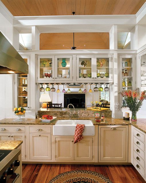 tideland haven (plan sl-1375) (southern living house plans) (kitchen