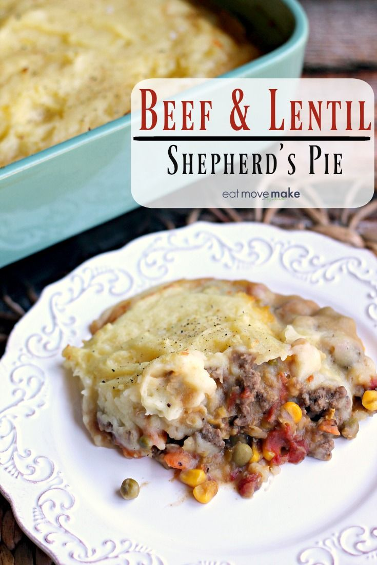 Comfort Food That S Nutritious Too Beef Lentil Shepherd S Pie Lovealentil Beef Casserole Recipes Pizza Recipes Homemade Comfort Food