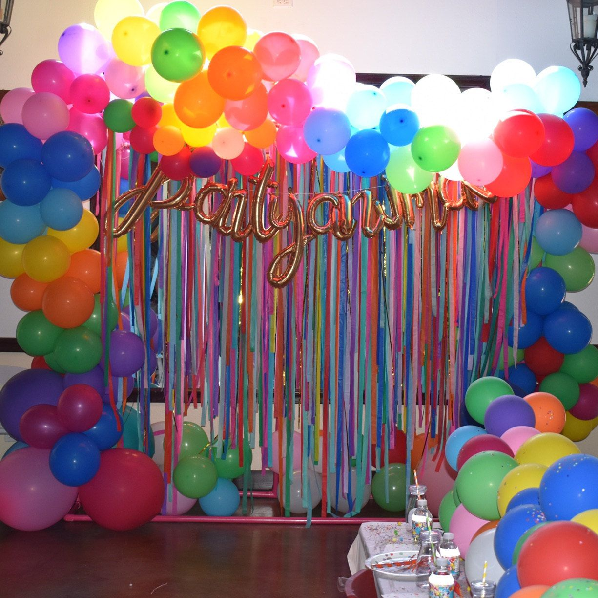 Colorful Backdrop, Wedding Backdrop, Photo Booth, Streamer Backdrop, Fringe Backdrop, Coachella Party Decorations, Bachelorette Party