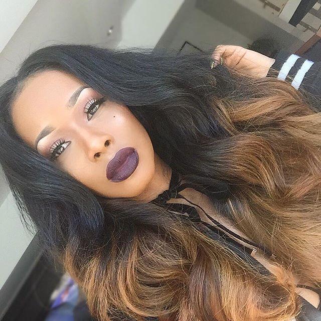 Celebuton hair