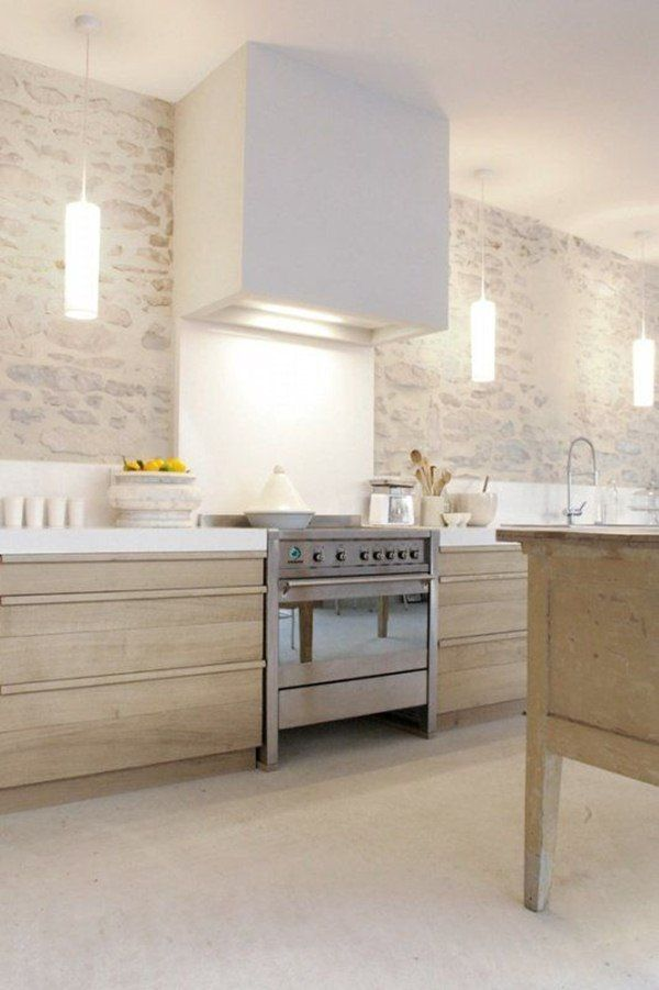 Paredes De Cocinas | Piedra En Paredes Cocinas Pinterest Kitchens Greek House And