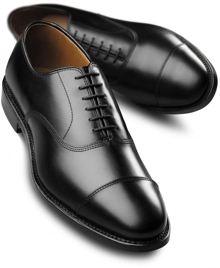 Black Dress Shoes Nice Simple Clean And Polished