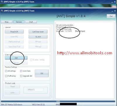 ANT Security Code exe (Nokia Security Code Unlocker) v1 8 4 Free