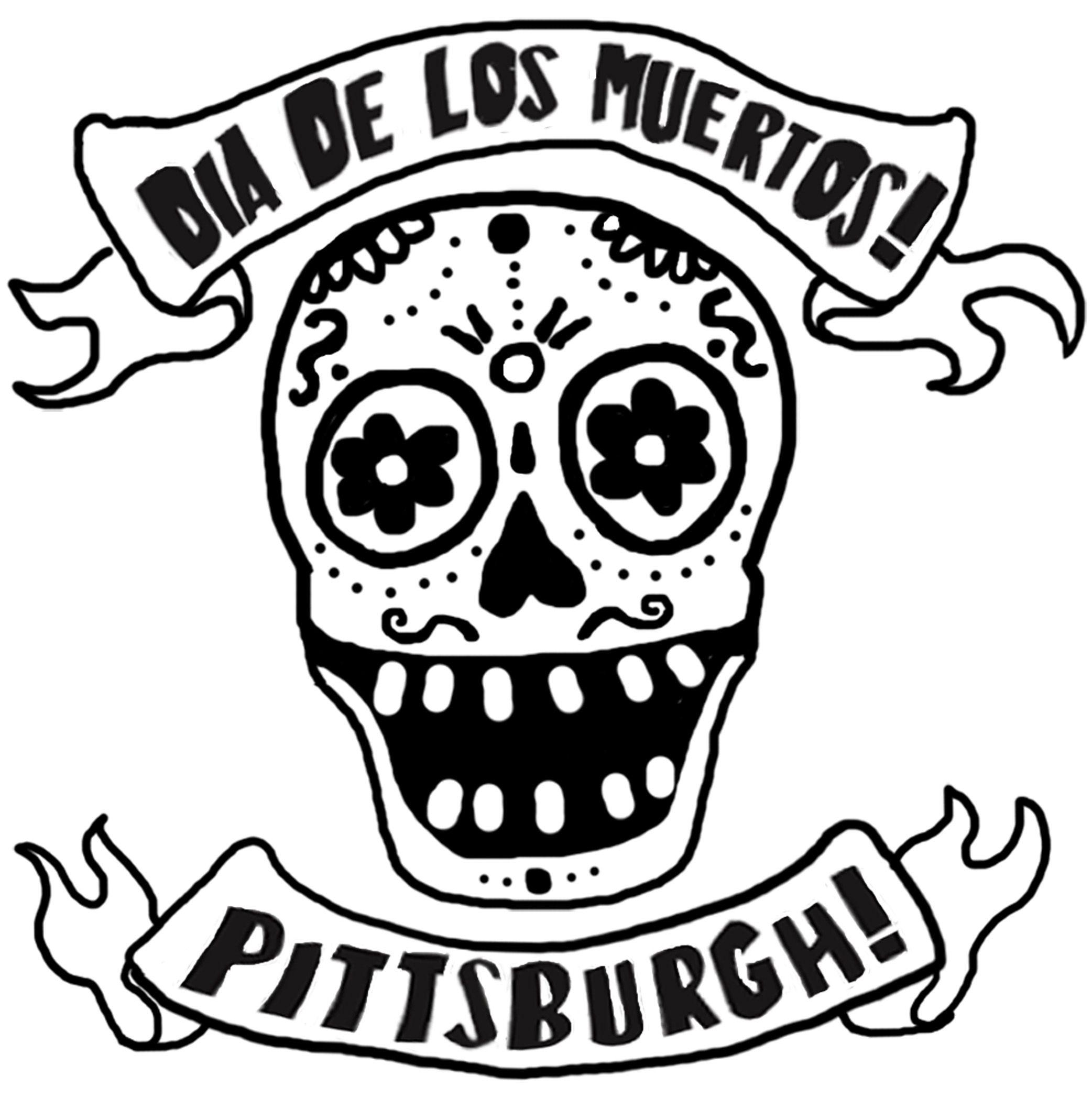 Sugar Skull Pumpkin Stencil Tagged With Dia De Los Muertos Coloring