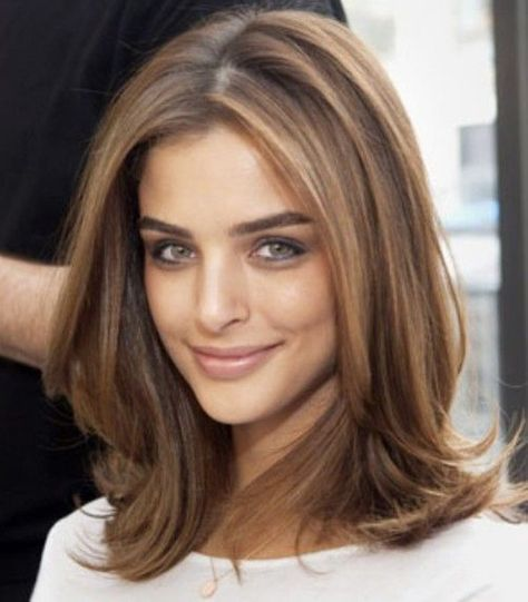 30 Stylish Medium Length Hairstyles | Face, Hair style and Hair cuts