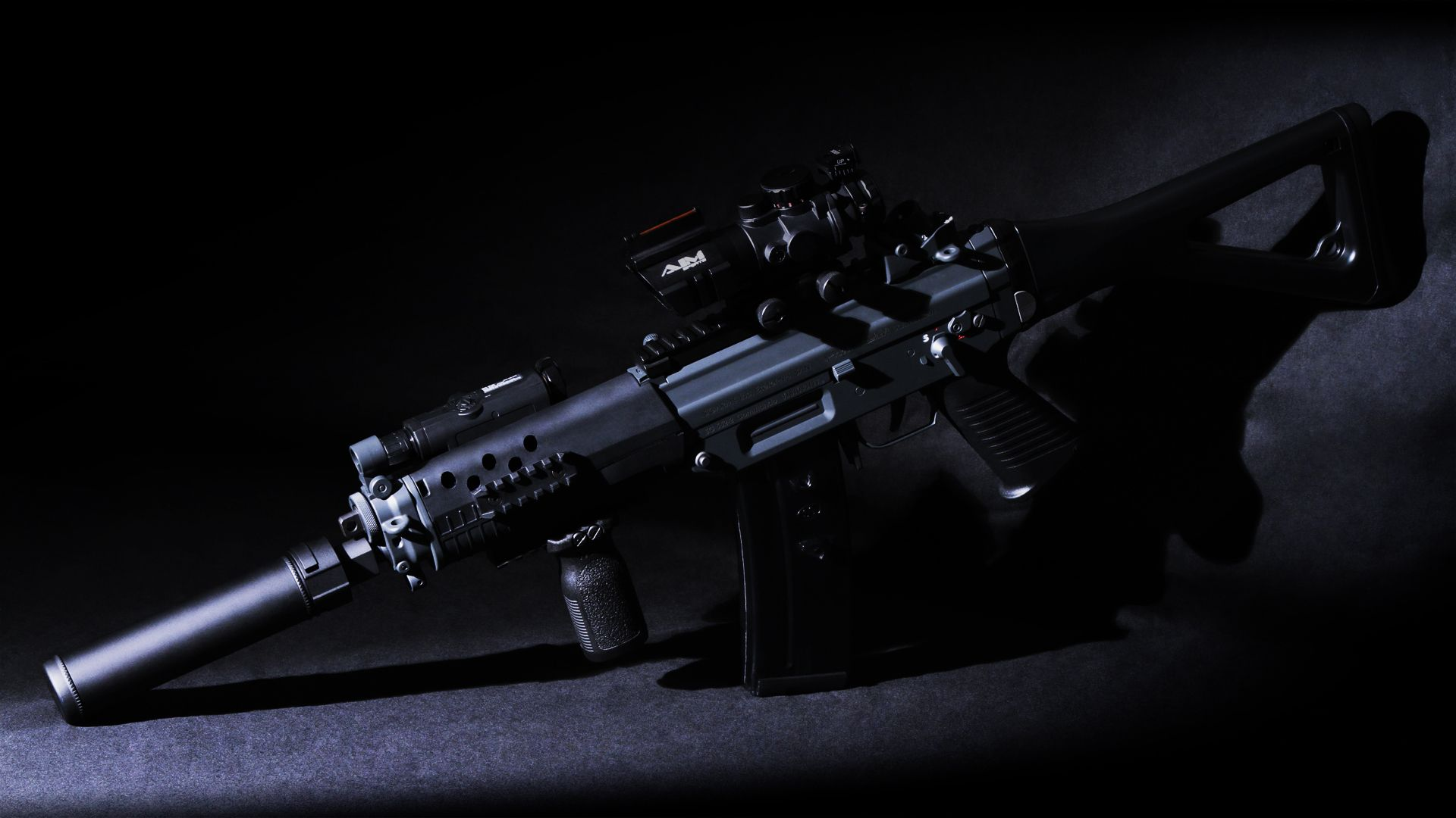 sig 552 automatic rifle weapon weapons military wallpaper
