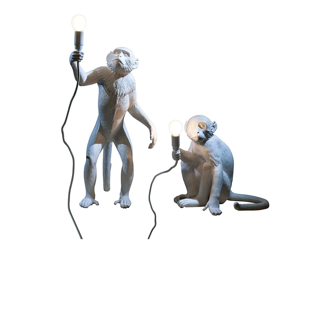 Singe Lampe Jungle SelettiUrban Monkey Debout NO8nmwv0