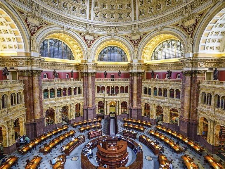 So Long Thomas Gov Inside The Retirement Of A Classic Web 1 0 Application Zdnet Beautiful Library Library Of Congress Reading Room