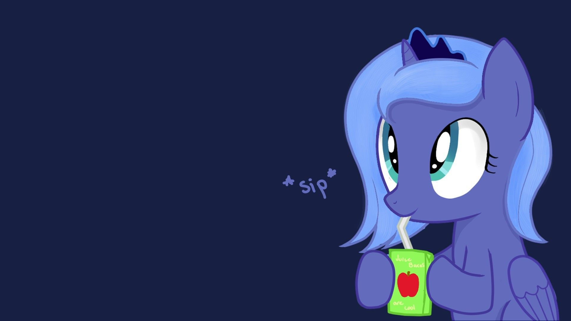 Is Magic Princess Luna Juice Box Ponies 1920x1080 Magic