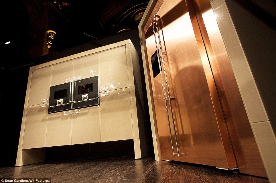 The Worldu0027s Most Expensive Kitchen: $1.6million Room Features A Crystal  Worktop, Solid Copper Walls (and A Swarovski Crystal Chandelier)