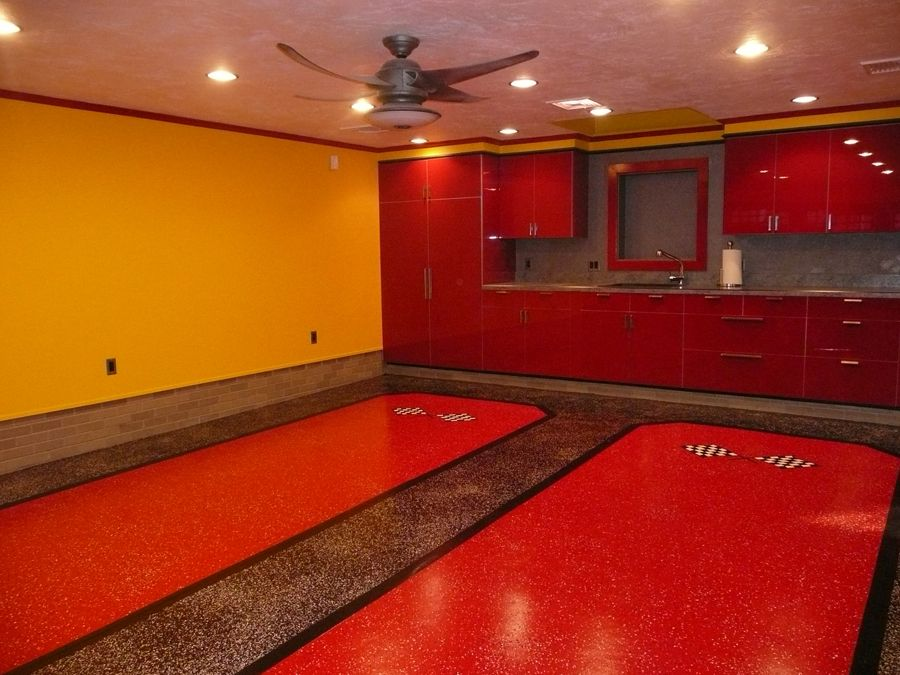 Photo of Armor Chip Garage Epoxy Kit for Flooring